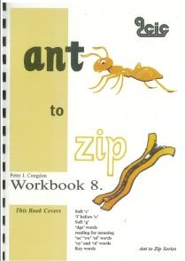 Ant to Zip Workbook 8